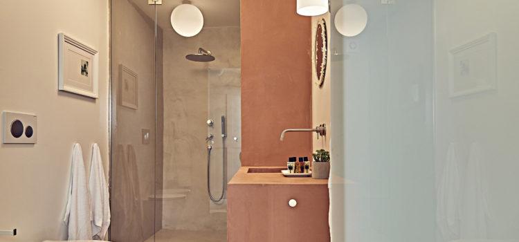 LaQuattro gliElefanti the bathroom
